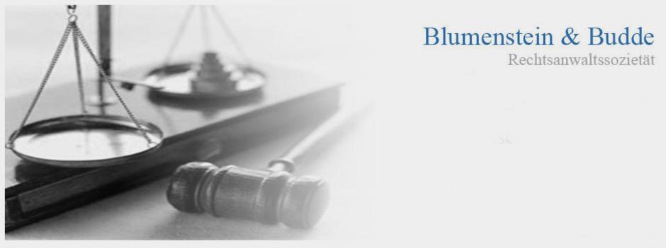 Rechtsanwalt Budde, Blumenstein Strafverteidigung, Budde Blumenstein Recht